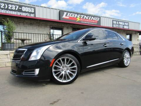 2014 Cadillac XTS for sale at Lightning Motorsports in Grand Prairie TX