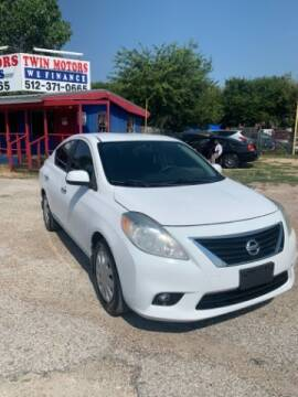 2013 Nissan Versa for sale at Twin Motors in Austin TX