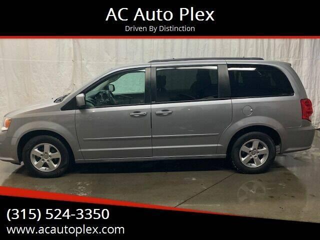 2013 Dodge Grand Caravan for sale at AC Auto Plex in Ontario NY