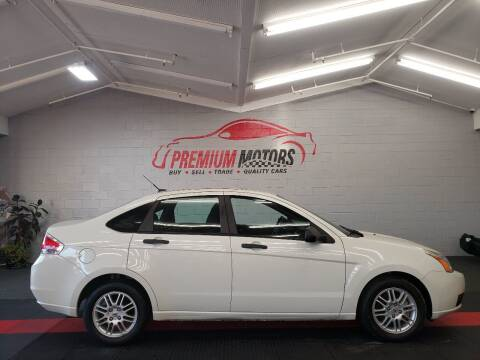 2011 Ford Focus for sale at Premium Motors in Villa Park IL