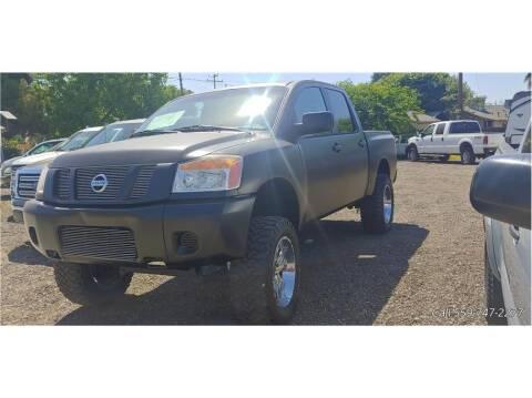 2008 Nissan Titan for sale at Dealers Choice Inc in Farmersville CA