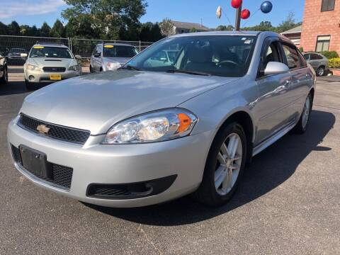 2014 Chevrolet Impala Limited for sale at KINGSTON AUTO SALES in Wakefield RI