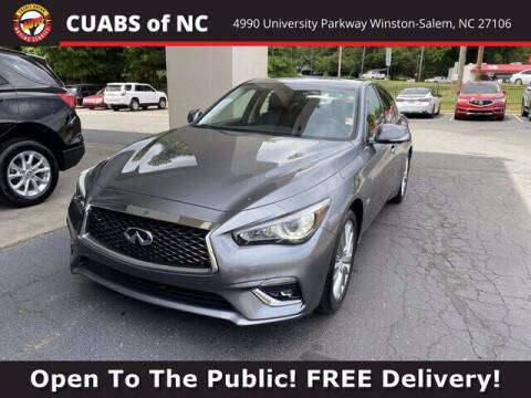 2018 Infiniti Q50 for sale at Credit Union Auto Buying Service in Winston Salem NC