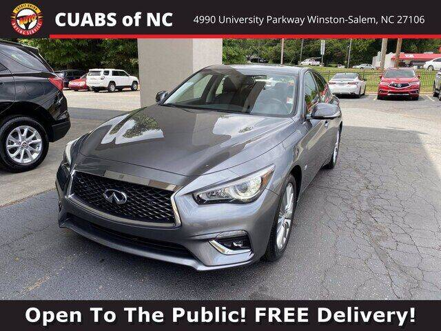 2018 Infiniti Q50 for sale at Summit Credit Union Auto Buying Service in Winston Salem NC