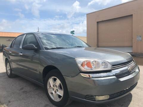 2005 Chevrolet Malibu for sale at Eden Cars Inc in Hollywood FL