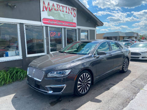 2017 Lincoln MKZ for sale at Martins Auto Sales in Shelbyville KY