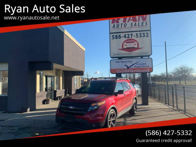 2015 Ford Explorer for sale at Ryan Auto Sales in Warren MI