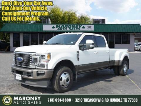 2020 Ford F-350 Super Duty for sale at Maroney Auto Sales in Humble TX