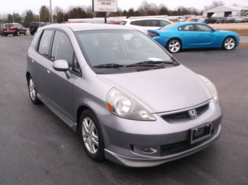 2008 Honda Fit for sale at SHEMWELL MOTOR COMPANY in Red Bud IL