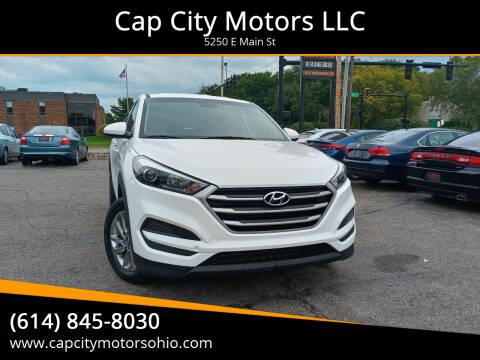2018 Hyundai Tucson for sale at Cap City Motors LLC in Columbus OH