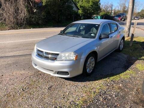 2012 Dodge Avenger for sale at Harley's Auto Sales in North Augusta SC