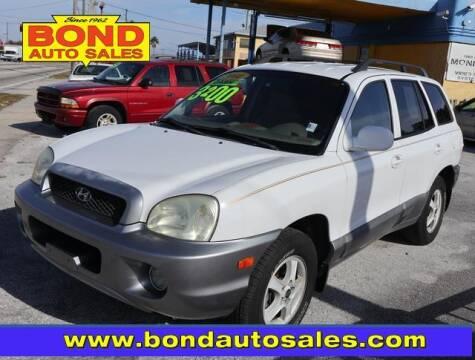 2004 Hyundai Santa Fe for sale at Bond Auto Sales in St Petersburg FL