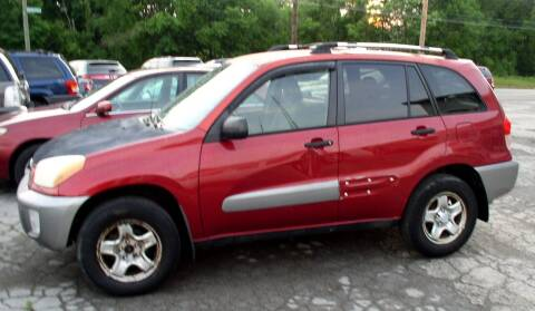 2002 Toyota RAV4 for sale at Angelo's Auto Sales in Lowellville OH