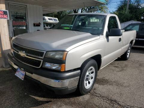 2007 Chevrolet Silverado 1500 Classic for sale at New Wheels in Glendale Heights IL