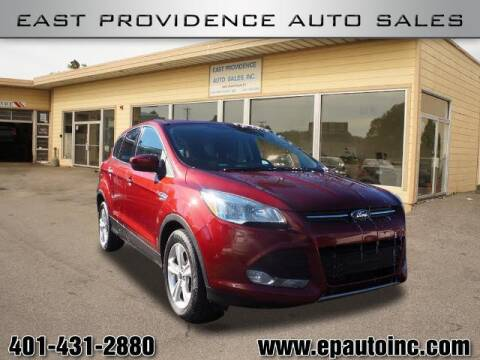2015 Ford Escape for sale at East Providence Auto Sales in East Providence RI