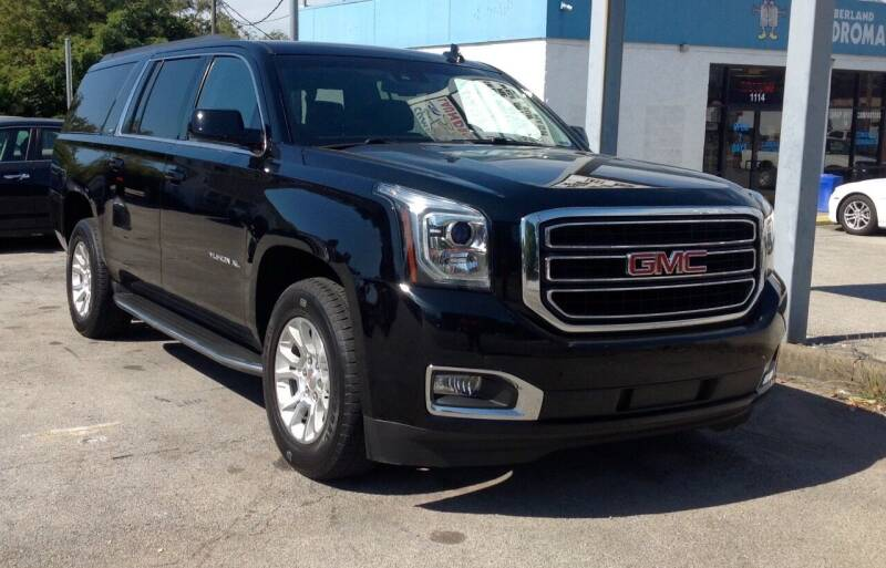 2016 GMC Yukon XL for sale at Morristown Auto Sales in Morristown TN