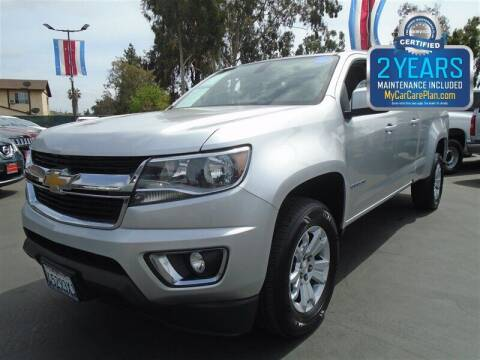 2016 Chevrolet Colorado for sale at Centre City Motors in Escondido CA