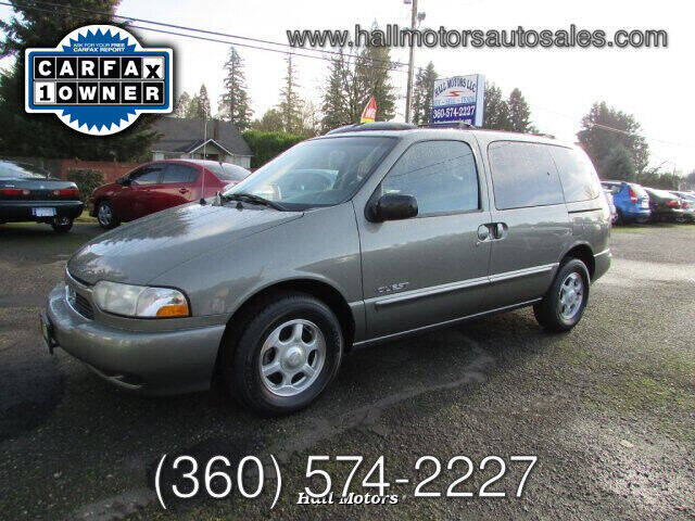1999 Nissan Quest for sale at Hall Motors LLC in Vancouver WA