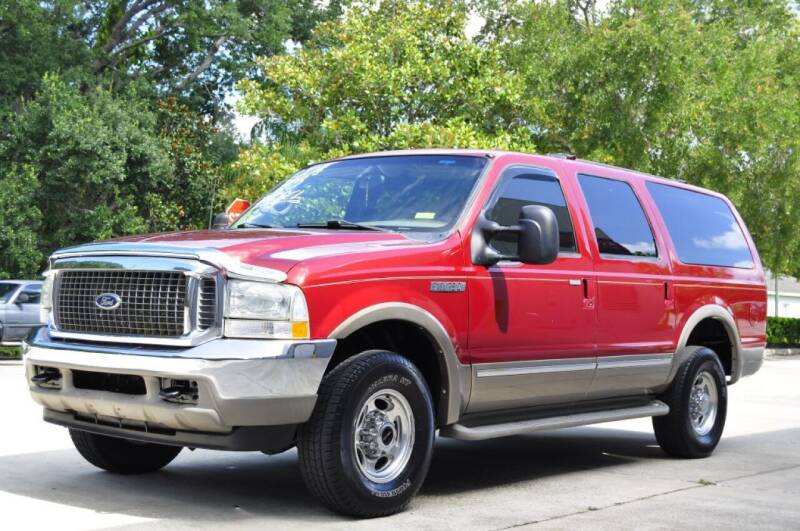 2002 Ford Excursion for sale at Vision Motors, Inc. in Winter Garden FL