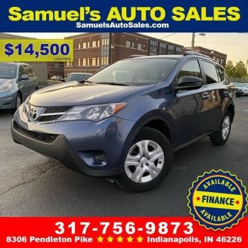 2014 Toyota RAV4 for sale at Samuel's Auto Sales in Indianapolis IN
