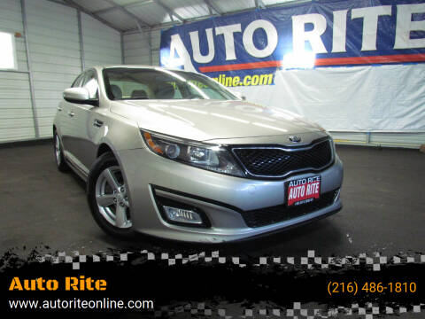 2015 Kia Optima for sale at Auto Rite in Cleveland OH