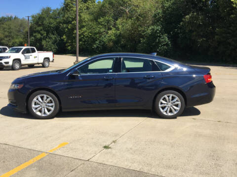 2016 Chevrolet Impala for sale at LANDMARK OF TAYLORVILLE in Taylorville IL