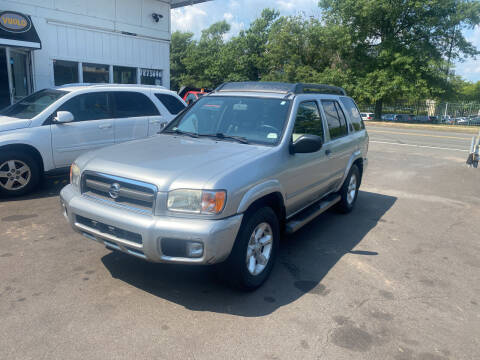 2003 Nissan Pathfinder for sale at Vuolo Auto Sales in North Haven CT