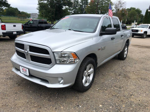 2013 RAM Ram Pickup 1500 for sale at Winner's Circle Auto Sales in Tilton NH