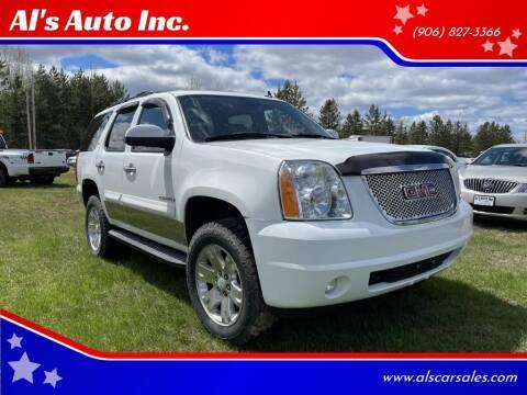 2008 GMC Yukon for sale at Al's Auto Inc. in Bruce Crossing MI