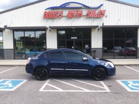 2011 Nissan Sentra for sale at DOUG'S AUTO SALES INC in Pleasant View TN