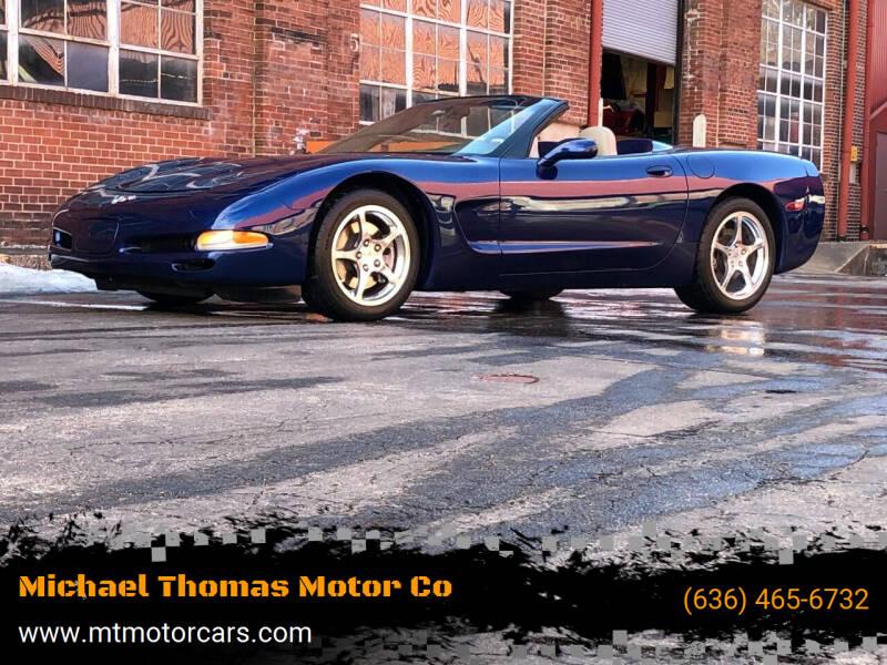 2004 Chevrolet Corvette for sale at Michael Thomas Motor Co in Saint Charles MO