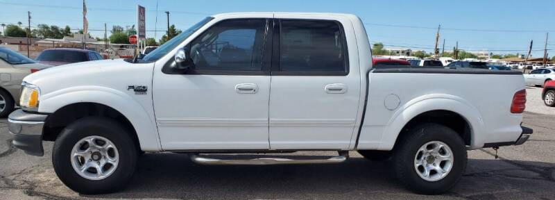 2002 Ford F-150 for sale at AZ Auto and Equipment Sales in Mesa AZ