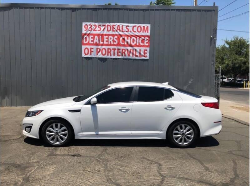 2015 Kia Optima for sale at Dealers Choice Inc in Farmersville CA