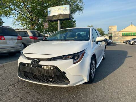2020 Toyota Corolla for sale at All Star Auto Sales and Service LLC in Allentown PA