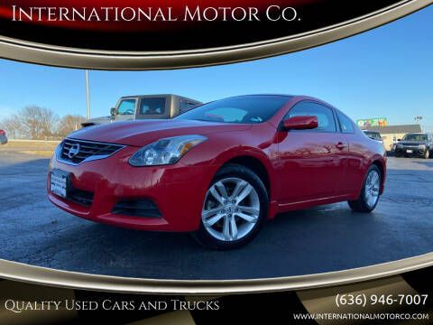 2011 Nissan Altima for sale at International Motor Co. in St. Charles MO