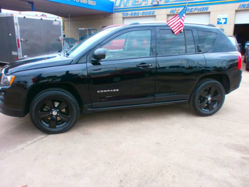 2014 Jeep Compass for sale at Under Priced Auto Sales in Houston TX