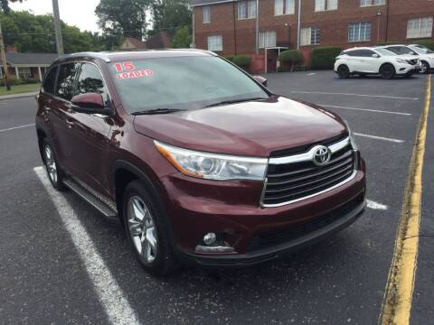 2015 Toyota Highlander for sale at DEALS ON WHEELS in Moulton AL