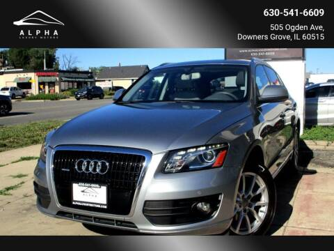 2010 Audi Q5 for sale at Alpha Luxury Motors in Downers Grove IL