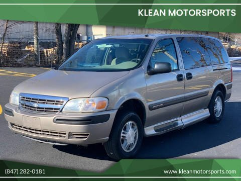 2003 Chevrolet Venture for sale at Klean Motorsports in Skokie IL