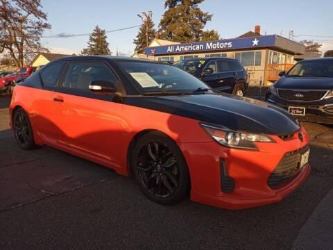 2015 Scion tC for sale at All American Motors in Tacoma WA