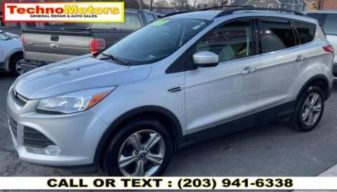 2013 Ford Escape for sale at Techno Motors in Danbury CT
