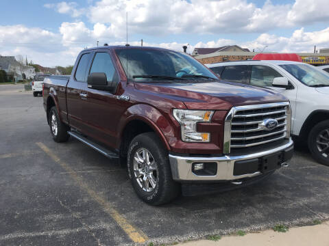 2017 Ford F-150 for sale at Carney Auto Sales in Austin MN