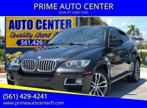 2013 BMW X6 for sale at PRIME AUTO CENTER in Palm Springs FL