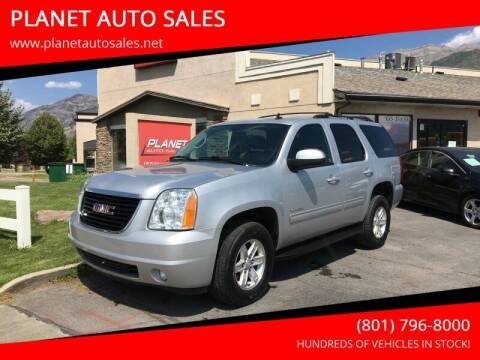2014 GMC Yukon for sale at PLANET AUTO SALES in Lindon UT