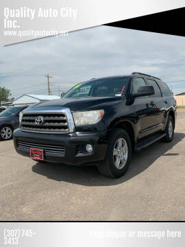 2008 Toyota Sequoia for sale at Quality Auto City Inc. in Laramie WY