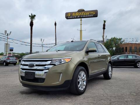 2013 Ford Edge for sale at A MOTORS SALES AND FINANCE - 5630 San Pedro Ave in San Antonio TX