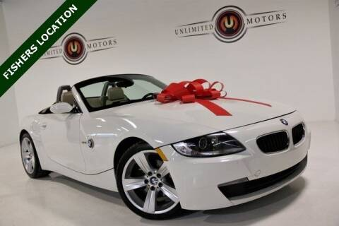 2006 BMW Z4 for sale at Unlimited Motors in Fishers IN