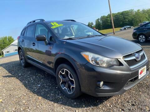 2015 Subaru XV Crosstrek for sale at ALL WHEELS DRIVEN in Wellsboro PA