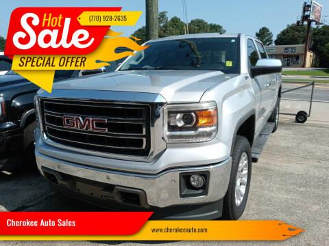 2014 GMC Sierra 1500 for sale at Cherokee Auto Sales in Acworth GA