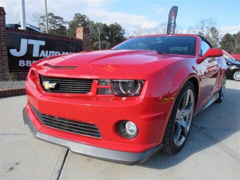 2012 Chevrolet Camaro for sale at J T Auto Group in Sanford NC